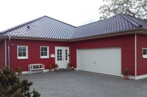 Haus in Holzrahmenbauweise